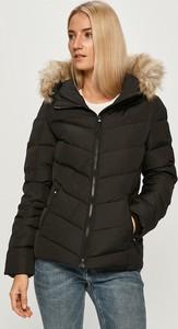 Kurtka Calvin Klein krótka w stylu casual z bawełny