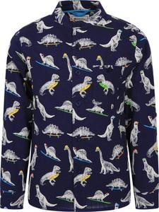 Granatowa koszula dziecięca Mountain Warehouse