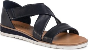 Granatowe sandały Lasocki