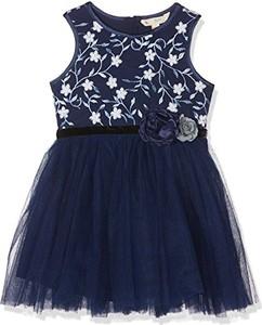 Granatowa sukienka dziewczęca uttam boutique