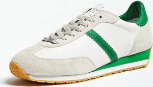 Guess Skórzane Sneakersy Model Glorym