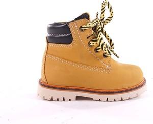 Buty dziecięce zimowe RenBut ze skóry