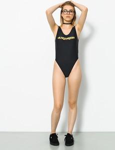 Czarny strój kąpielowy MAJORS w stylu casual