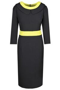 Sukienka Fokus midi ołówkowa z tkaniny