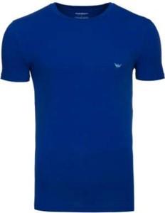 T-shirt Emporio Armani w stylu casual z dżerseju