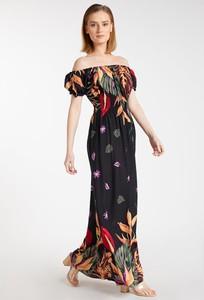 Sukienka Monnari z krótkim rękawem maxi