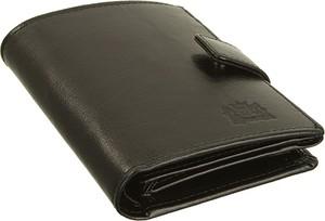 Czarny portfel męski Perfekt Plus