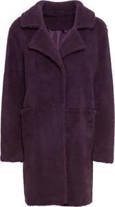 Fioletowy płaszcz bonprix BODYFLIRT