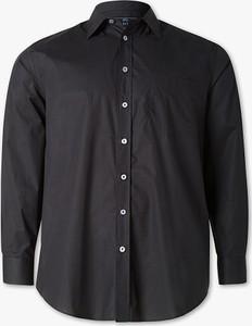 Granatowa koszula CANDA z długim rękawem