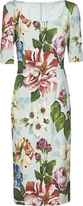 Zielona sukienka Dolce & Gabbana