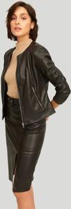 Czarna kurtka Greenpoint bez kaptura w stylu casual