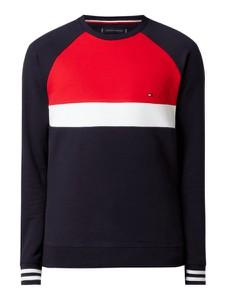 Granatowa bluza Tommy Hilfiger z bawełny