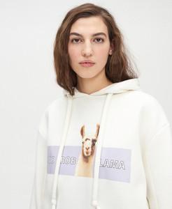 Bluza Cropp krótka w młodzieżowym stylu