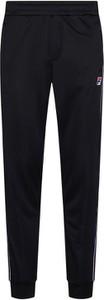 Czarne spodnie sportowe Fila z dresówki