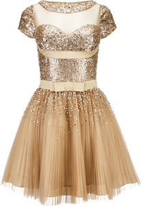 Sukienka La Poudre™ w stylu glamour z krótkim rękawem mini