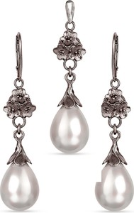 Artseko Komplet srebrny z perłami Seashell Liliana a780