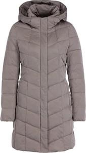Brązowy płaszcz Geox w stylu casual