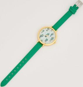 Sinsay - Zegarek w kaktusy - Zielony