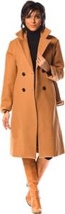 Pomarańczowy płaszcz La Fabrique Du Manteau w stylu casual