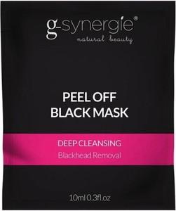 G-Synergie Peel Off Black Mask czarna maska głęboko oczyszczająca 10ml