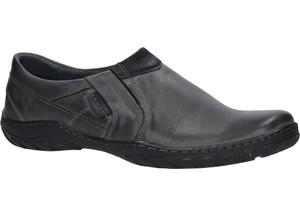856da41115bb6 Półbuty clarks - mapped slip 261322597 black fabric