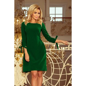 519ba16190 Zielone sukienki midi wyprzedaż