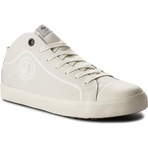 bf62680340a5b Tenisówki TOMMY HILFIGER - Iconic Long Lace Sneaker FM0FM01669 Halogen Blue  425