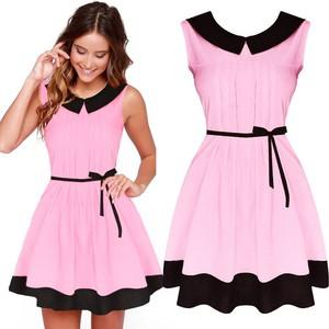 657e045c76 Sukienki z kołnierzykiem
