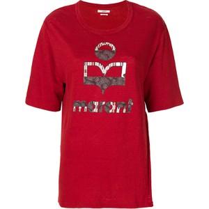 2da588f1ac732 Czerwone bluzki damskie Isabel Marant, kolekcja jesień 2018