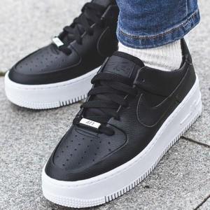 best website 378f0 aaa98 Czarne buty sportowe Nike sznurowane w sportowym stylu