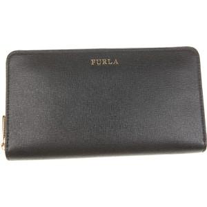 907d677dcfefa Czarne portfele damskie Furla wyprzedaż