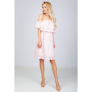 90a6396ed8 Różowe sukienki koronkowe